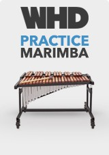 WHD Practice Marimba med Resonators