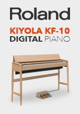 Roland Kiyola KF-10 Digital Piano med Krakk, Pure Oak