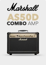 Marshall AS50D Akustisk Combo Amp, Limited Edition Svart