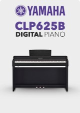 Yamaha CLP625B Digitalt Piano, Satin Black