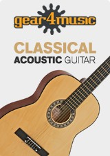 3/4 Klassisk Gitar, Natural, fra Gear4music