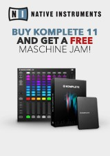 Native Instruments Maschine Jam og Komplete 11