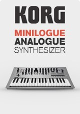 Korg Minilogue Polyfon Analog Synthesizer