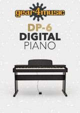 DP-6 Digitalt Piano fra Gear4music