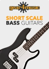 Gear4music Short Scale Bassgitarer