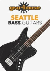 gear4music Seattle bassgitarer
