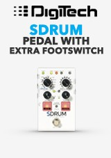 DigiTech SDRUM Strummable Pedal With Extra Footswitch
