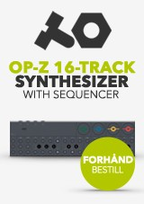 Teenage Engineering OP-Z 16-spors Synthesizer med Sequencer