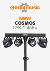 Cosmos par bars fra Gear4music